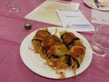 Involtini di melanzane- Aubergines rolls