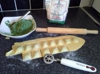 Fresh Ravioli ricotta e spinaci